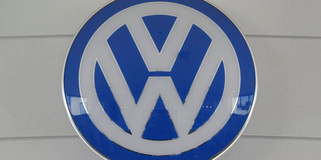 In this Thursday, July 2, 2015, photo, the Volkswagen Group VW emblem is displayed at the New Century...