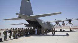 미 C-130 수송기, 아프간에서