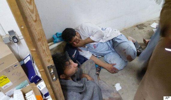 미군 공습으로 아프간 '국경없는 의사회' 병원서 19명