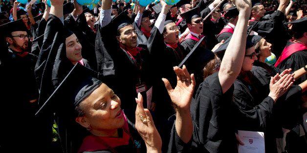 ill tGraduates of Harvard School of Government, including Susan Reed-Allen, of El Dorado, Ark., below...