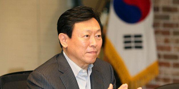 신동빈 롯데 회장, 10대 그룹총수 첫 국감