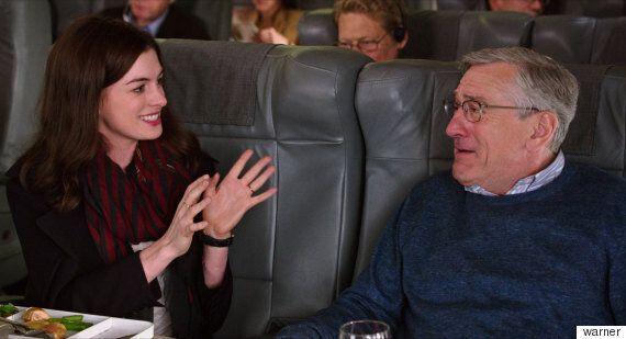로버트 드니로가 영화 '인턴' 홍보 인터뷰 도중 자리를 박차고