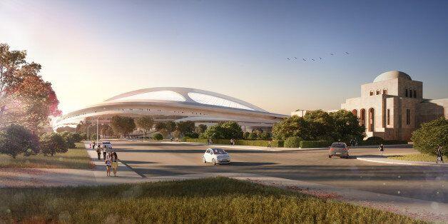 자하 하디드, 새로운 도쿄올림픽 스타디움 공모전 참가를