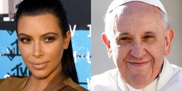 킴 카다시안의 '교황 트윗'은 왜
