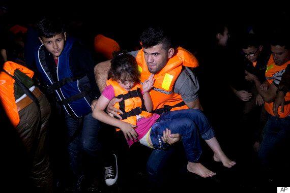 시리아 난민 5살 소녀가 또 숨진 채