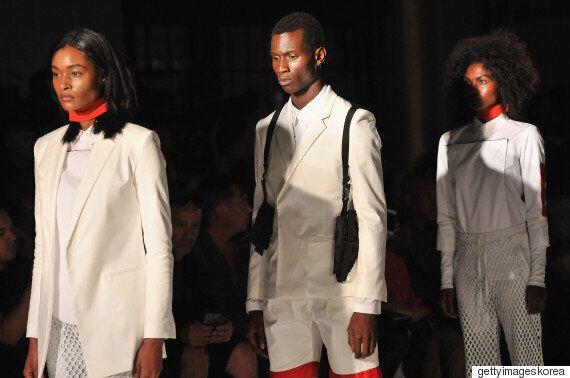 아프리카계 미국인 디자이너, '경찰폭력'을 런웨이에