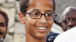 미국 무슬림 고교생, 직접 만든 시계를 학교에서 폭탄으로 오해받다(사진,
