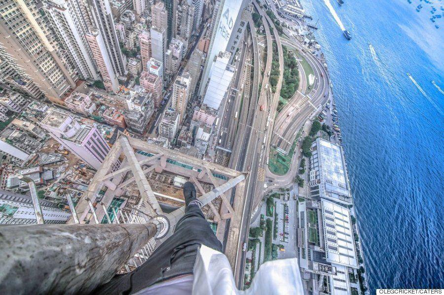 전 세계 고층빌딩에서 찍은 어질어질한
