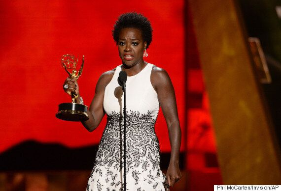 '에미상' 최초의 흑인 여우주연상 수상자 바이올라 데이비스, 할리우드의 다양성 문제를