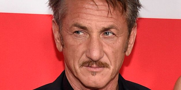 Sean Penn arrives at the Los Angeles premiere