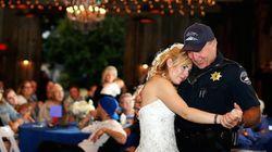 순직한 경찰의 딸 결혼식에 아버지 대신 참석한 동료