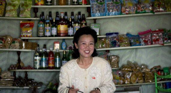 활기를 띄는 북한의 소비재