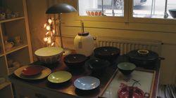 덴마크 코펜하겐 빈티지 그릇 상점   그릇 애호가들을 위한