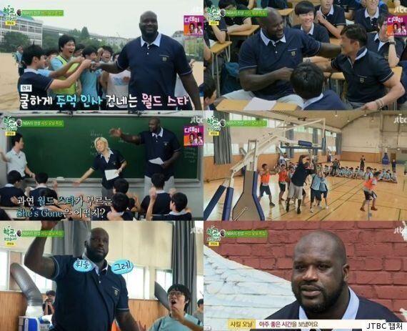 '학교' 샤킬오닐, '흥+재간' 반전 매력 안방