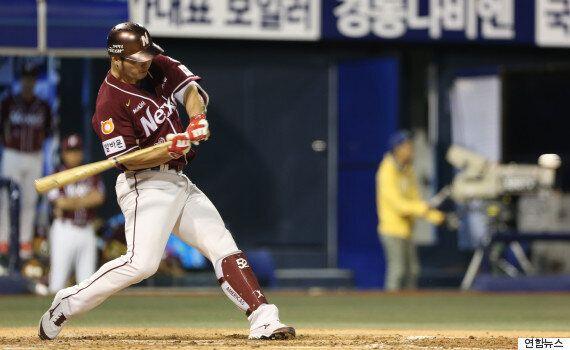 넥센 박병호의 역사적인 홈런이