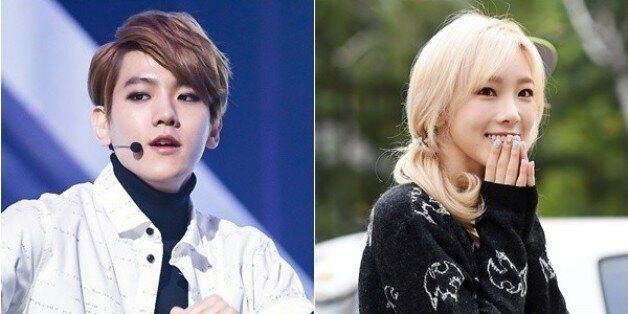 태연·백현, SM 공식 사내커플부터 아쉬운