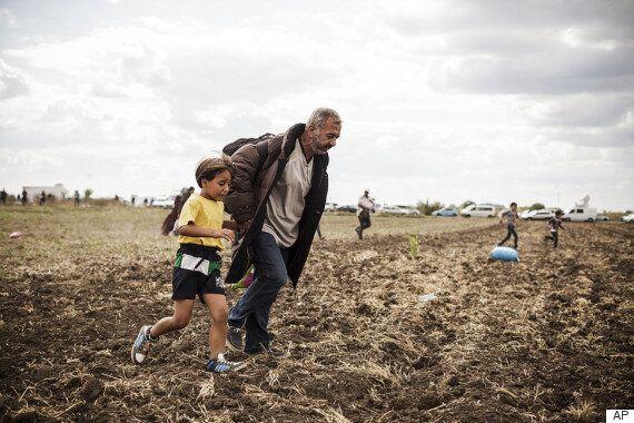 헝가리 카메라 기자의 발에 걸려 넘어졌던 난민 아이, 호날두를