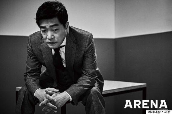 손현주, 생애 최초 패션 화보..독보적