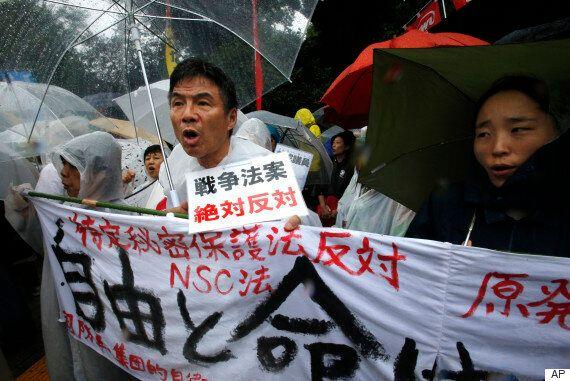 日 집단 자위권 법안, 참의원 소위에서