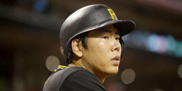 Pittsburgh Pirates third baseman Jung Ho Kang during a baseball game against the Cincinnati Reds, Tuesday,...