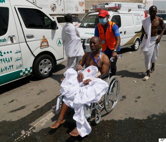 사우디 메카서 최악의 압사사고가 벌어져 717명