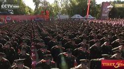 중국, '티베트 자치구 50주년' 기념대회