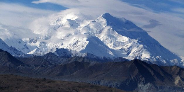 FILE - This Aug. 27, 2014 file photo shows Mount McKinley in Denali National Park and Preserve, Alaska....
