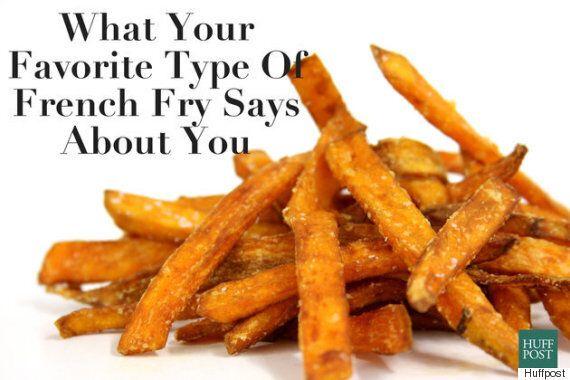 좋아하는 감자튀김으로 알아보는 유형별