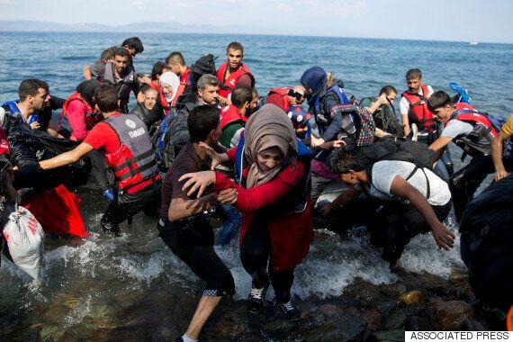 유럽행 난민 '발칸루트' 지역 대혼란 : 그리스 레스보스 섬