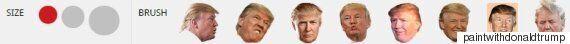 도널드 트럼프로 그림을