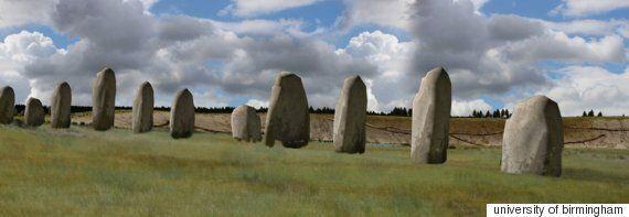 스톤헨지 근처에서 선사시대 유적이 발견되다(사진,