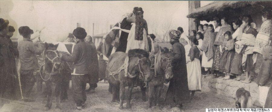 일제강점기 초기, 독일 신부가 찍은 1911년의