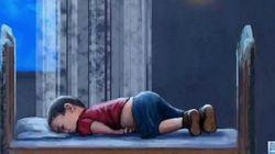 시리아 난민 아기를 향한 전 세계인의