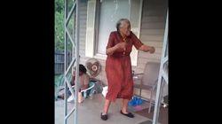 어느 텍사스 할머니의 놀라운 댄스