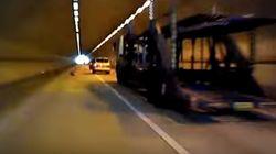 아찔한 상주 고속도로의 터널 관리