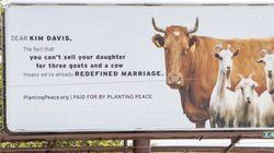 동성결혼 증명서 발급 거부한 '킴 데이비스'의 면전에 성경의 말씀을