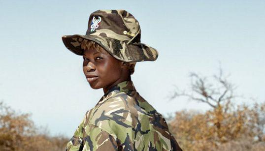 남아공 초원을 지키는 여자들 , '블랙