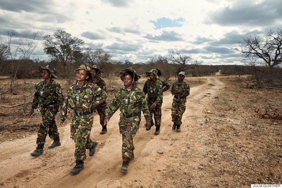 남아공 야생동물을 지키는 여자들 , '블랙