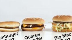 1955년의 맥도날드 햄버거는