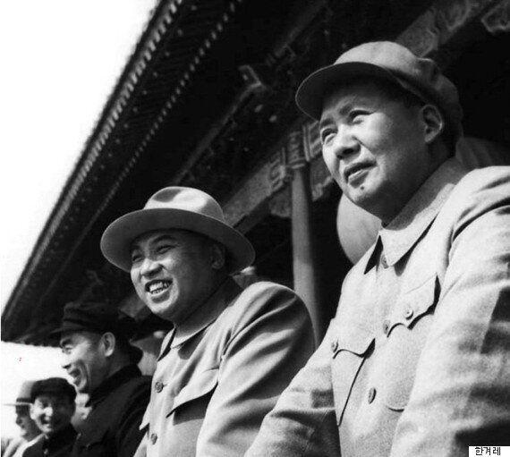 60년 전 '김일성-마오쩌둥' 자리의