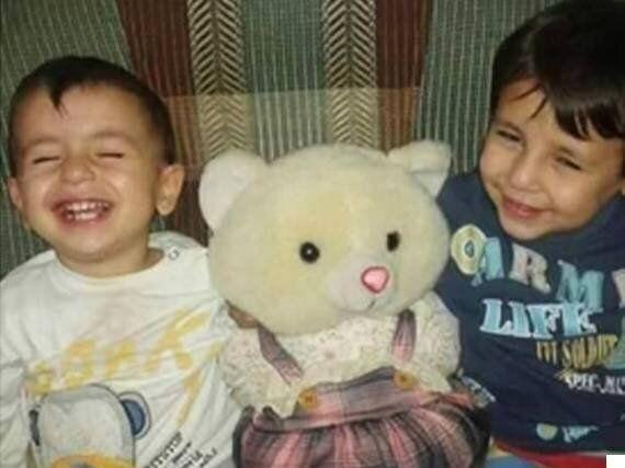 시리아 난민 아이 아빠