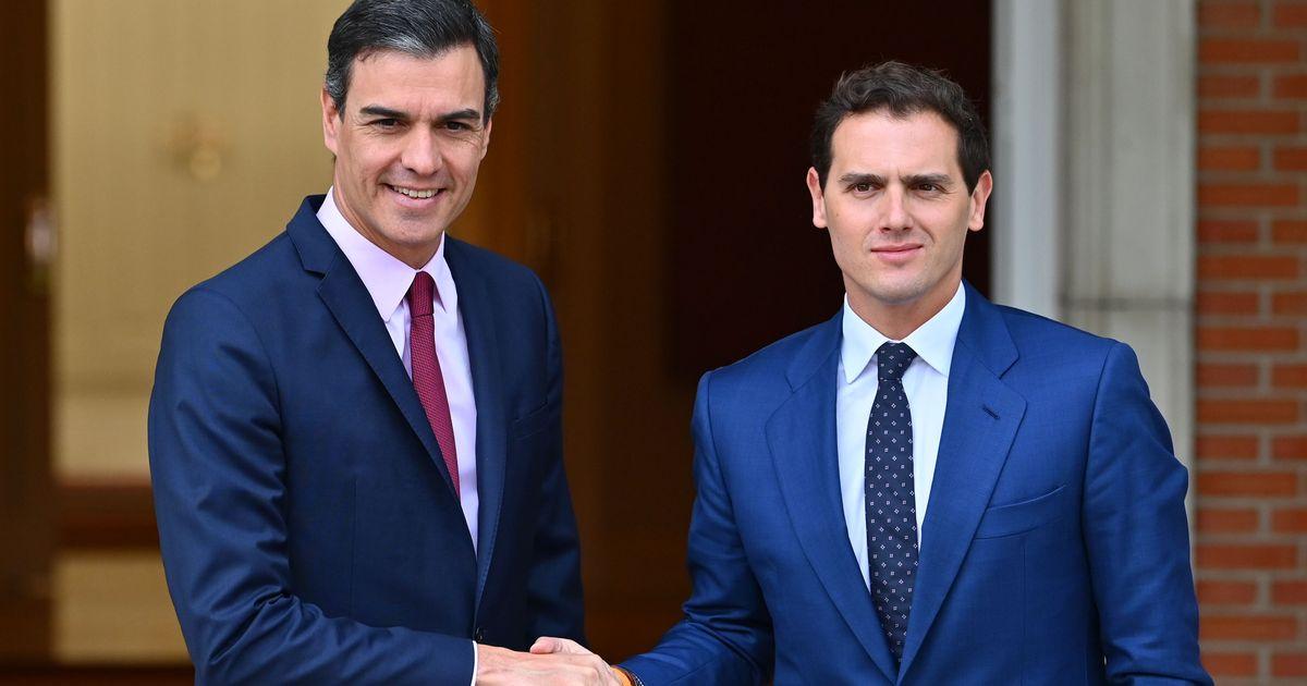 Albert Rivera pide una reunión por carta a Pedro Sánchez