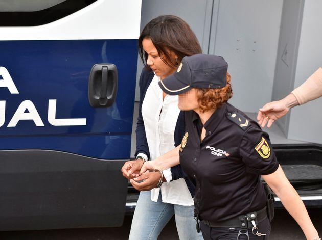 Ana Julia Quezada, única acusada por el asesinato del niño Gabriel Cruz, a su llegada este martes a la...