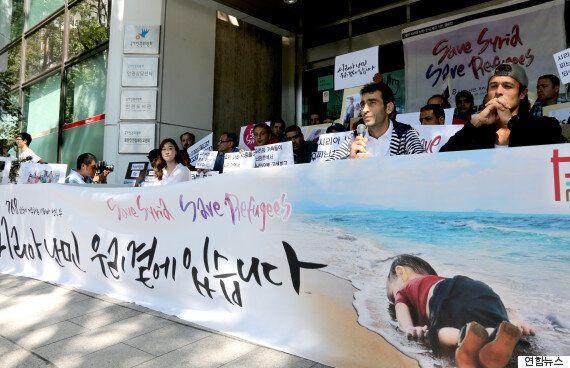 한국에 온 난민, '돈,집 필요 없어요. 살게