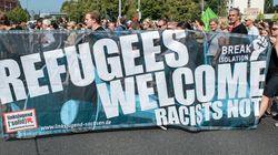 난민을 혐오하는 독일, 난민을 환영하는