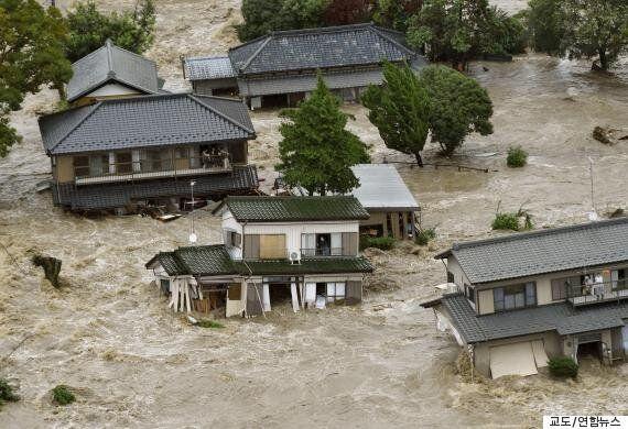 태풍 '아타우' 강타 日간토지역 일부