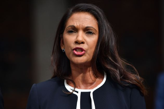 Gina Miller outside the High