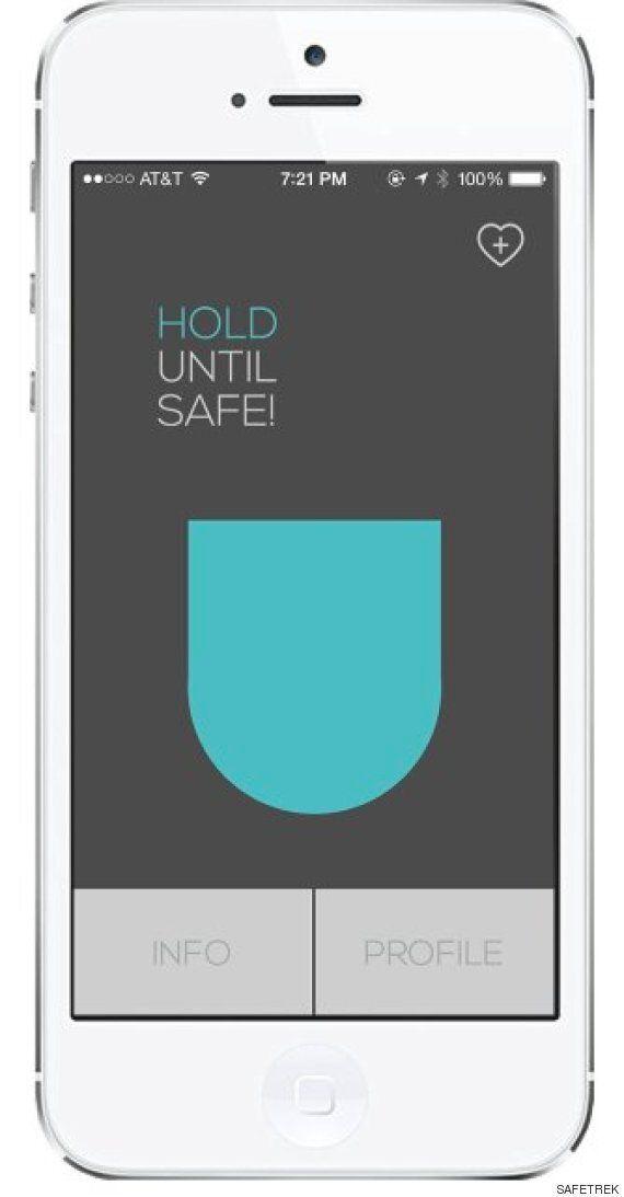 전화기에서 손을 떼면 경찰에 신고해주는 안전 앱이