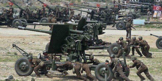북한, 확성기 타격 위한 준비에