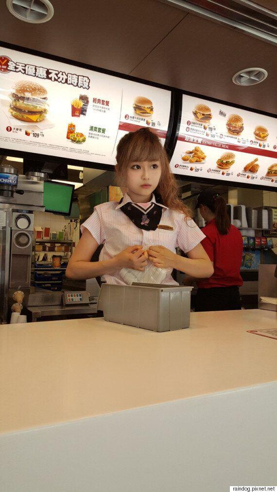 해피밀보다 인기가 많은 대만의 '맥도날드' 여신(사진,